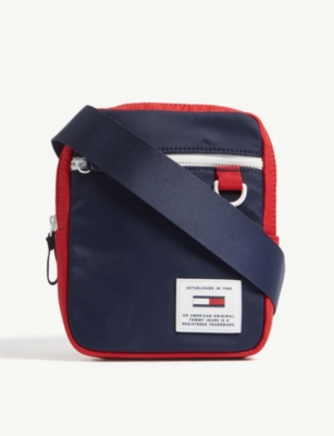 TOMMY JEANS Logo nylon cross-body bag