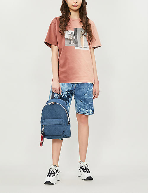 TOMMY JEANS TJ small logo tape backpack