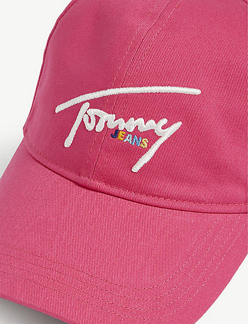 TOMMY JEANS Signature cotton cap