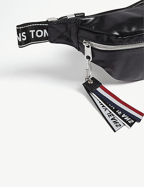 TOMMY JEANS Logo PU belt bag