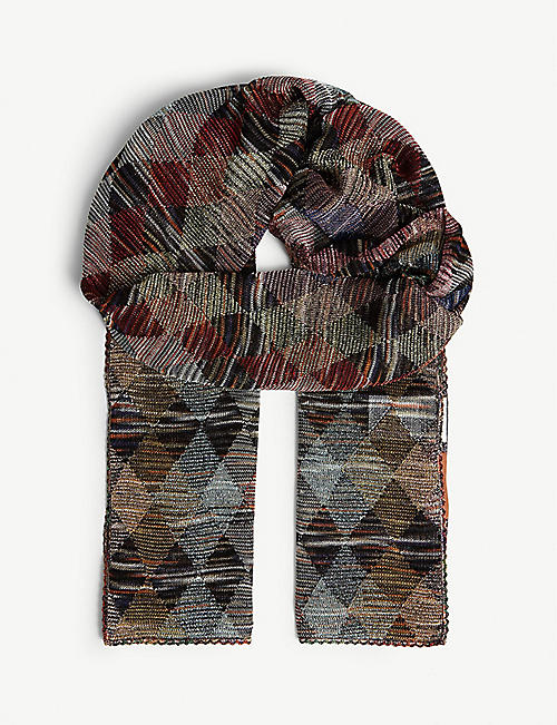 MISSONI Woven printed scarf