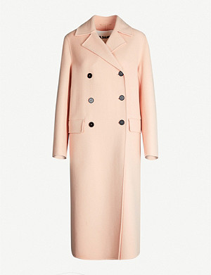 JIL SANDER Lucien double-breasted cashmere coat