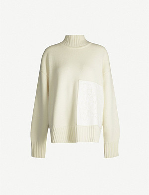 JIL SANDER Turtleneck wool jumper