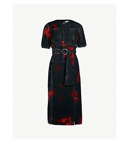 b6b123a4b509 ALTUZARRA - Angelou tie-dye stretch-crepe midi dress | Selfridges.com