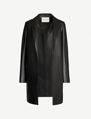 ALYX Single-breasted leather coat