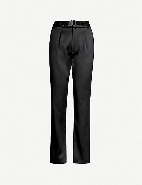1017 ALYX 9SM Buckled wide classic-fit woven trousers
