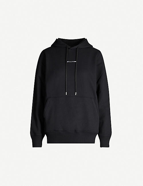 ALYX Logo-print regenerated cotton-blend hoody