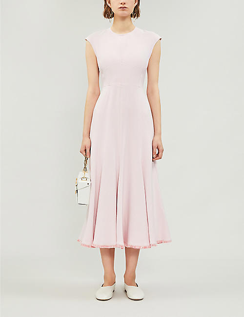 GABRIELA HEARST Crowther crepe midi dress
