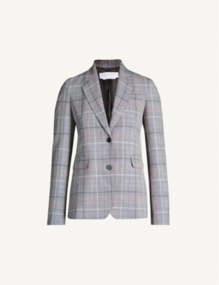 GABRIELA HEARST Sophie single-breasted wool jacket