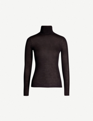 GABRIELA HEARST Cashmere and silk-blend turtleneck top