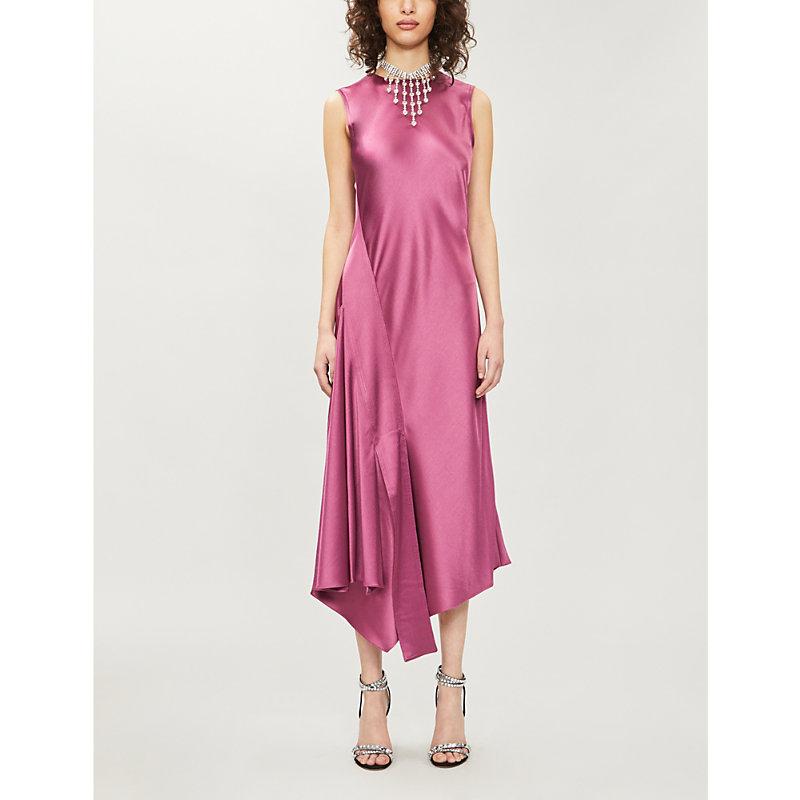Sies Marjan Dresses VANESSA SATIN-CREPE MIDI DRESS