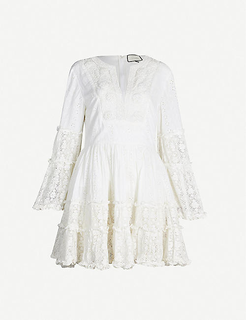 2f9e6778b ALEXIS Norwa frilled cotton dress