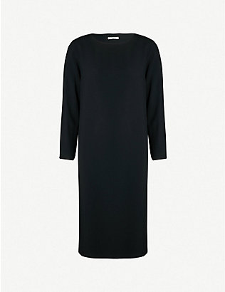 THE ROW: Larina crepe shift dress
