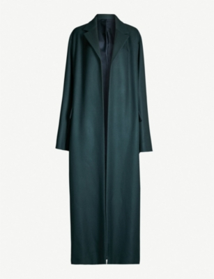 THE ROW Amoy wool-twill coat