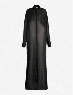 THE ROW Siena oversized silk-organza dress