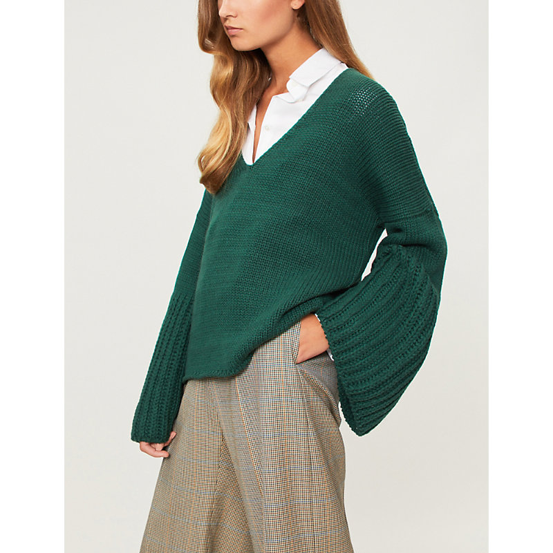 ARJE Cannes Cashmere in Emerald