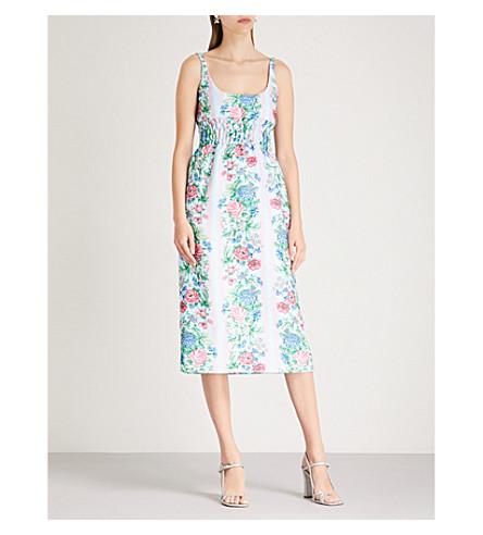 Emilia Wickstead GIOVANNA CREPE-CLOQUE DRESS