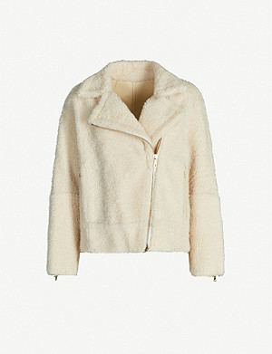 YVES SALOMON Merinillo shearling biker jacket