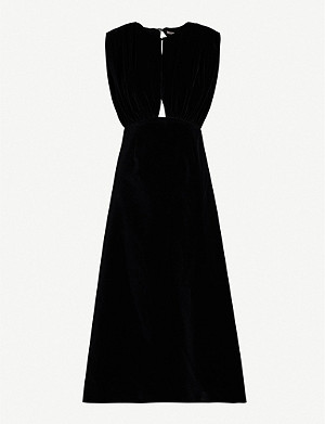 EMILIA WICKSTEAD Angelica velvet dress