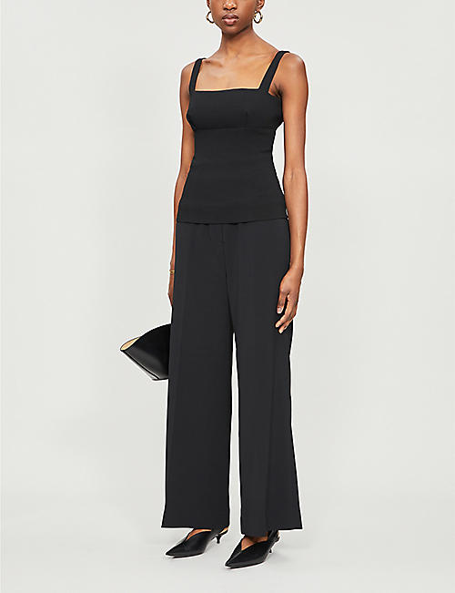 EMILIA WICKSTEAD Trixie stretch-crepe top