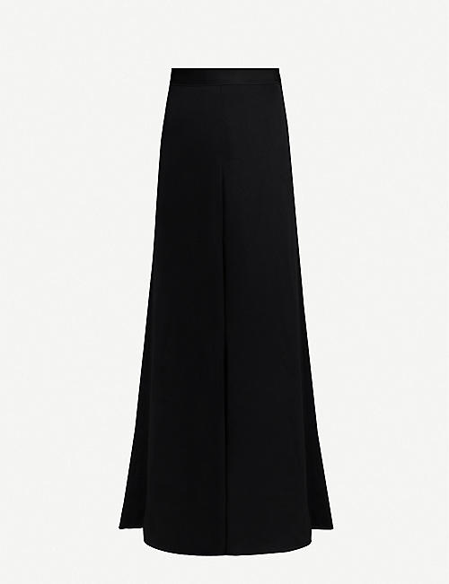 ELLERY Sweet flared crepe trousers