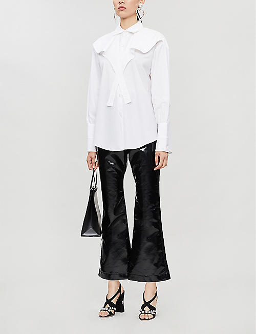ELLERY Icaro layered cotton shirt