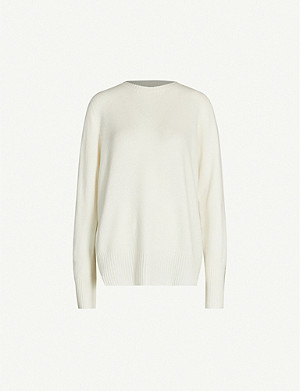 THE ROW Sibel relaxed-fit wool and cashmere-blend jumper