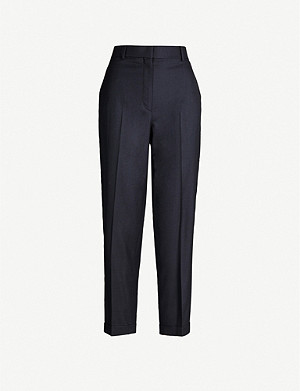 THE ROW Rondi tapered wool trousers