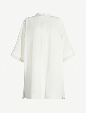 THE ROW Lennon oversized paper top