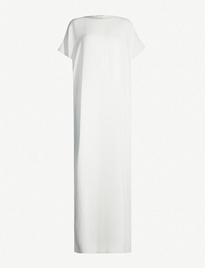 THE ROW Dunika boat-neck stretch-jersey maxi dress