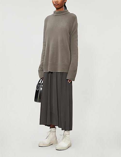 THE ROW Milina turtleneck wool-cashmere jumper