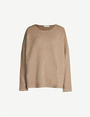 THE ROW Jass oversized cashmere-blend jumper
