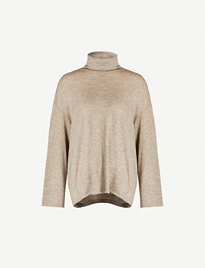 THE ROW Zalani turtleneck wool-cashmere jumper