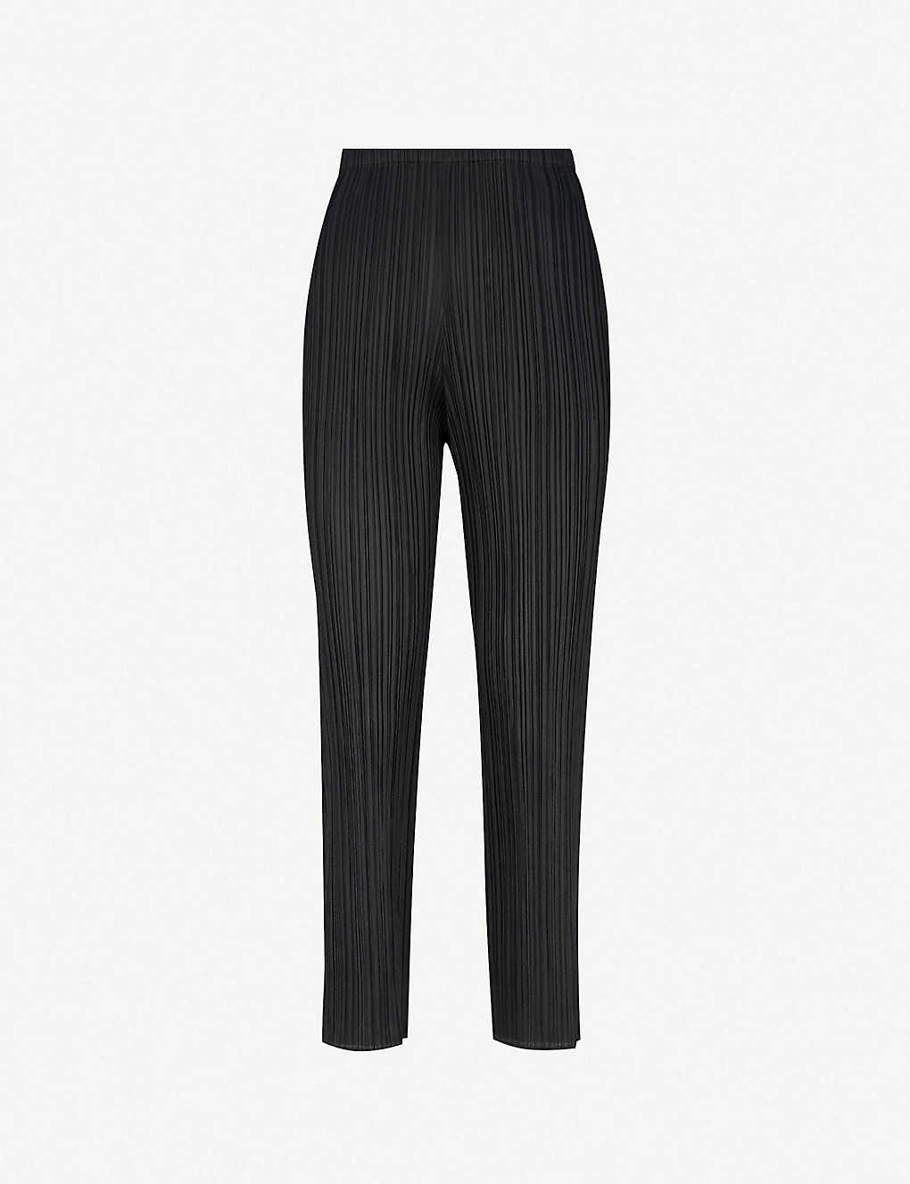 10dc75f371 PLEATS PLEASE ISSEY MIYAKE - Cropped slim pleated trousers | Selfridges.com