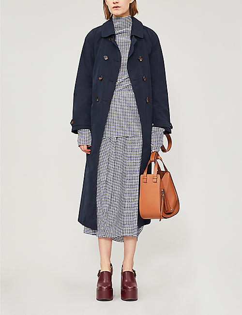 MAX MARA CUBE Double-breasted shell trench coat