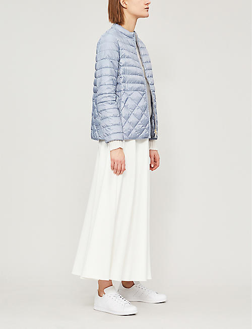 MAX MARA CUBE Collarless shell jacket