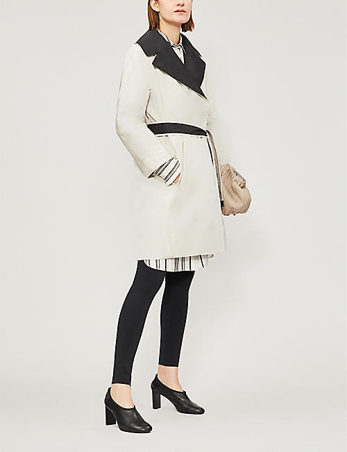 MAX MARA CUBE Reversible shell coat