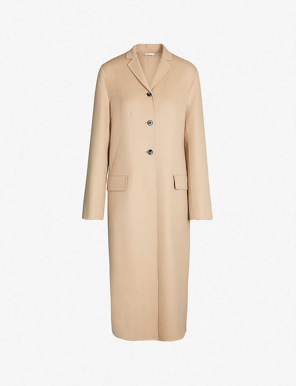 timeless design 3e86c 846ac JIL SANDER - Germania single-breasted cashmere coat ...
