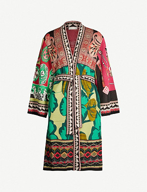 ETRO Abstract-pattern woven jacket