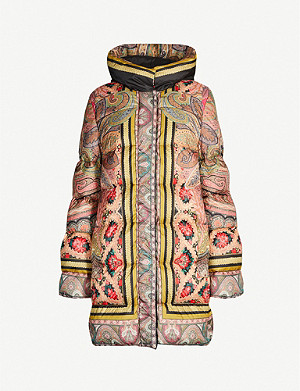ETRO Paisley-print shell-down puffer jacket