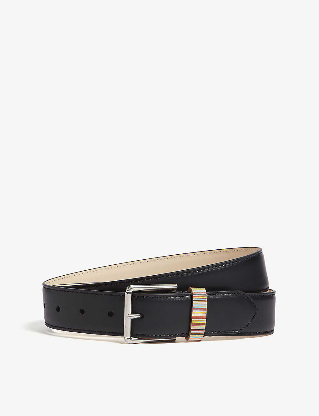 a7a97db22e6b9 PAUL SMITH ACCESSORIES - Vintage multi-striped keeper belt ...