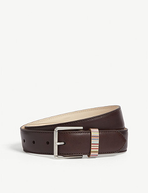 PAUL SMITH ACCESSORIES Vintage multi-striped keeper belt