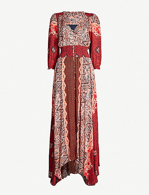 cc9ae96a2c FREE PEOPLE Mexicali rose woven maxi dress