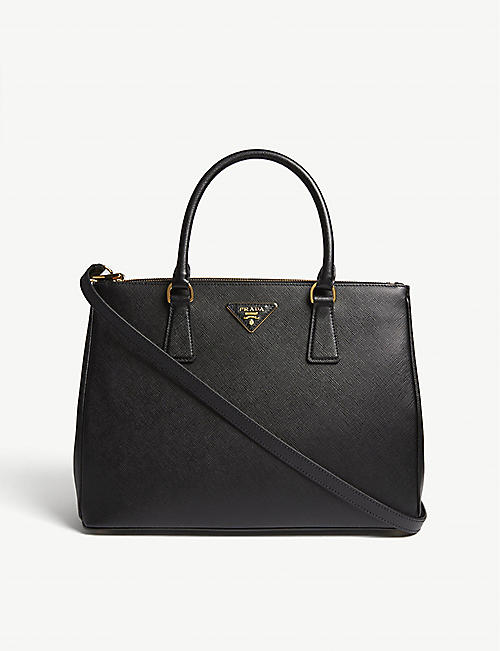 PRADA: Galleria Saffiano large leather tote