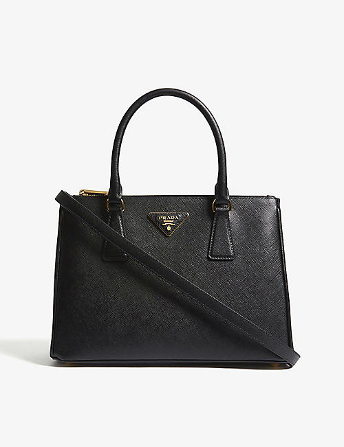 PRADA: Galleria small leather tote bag