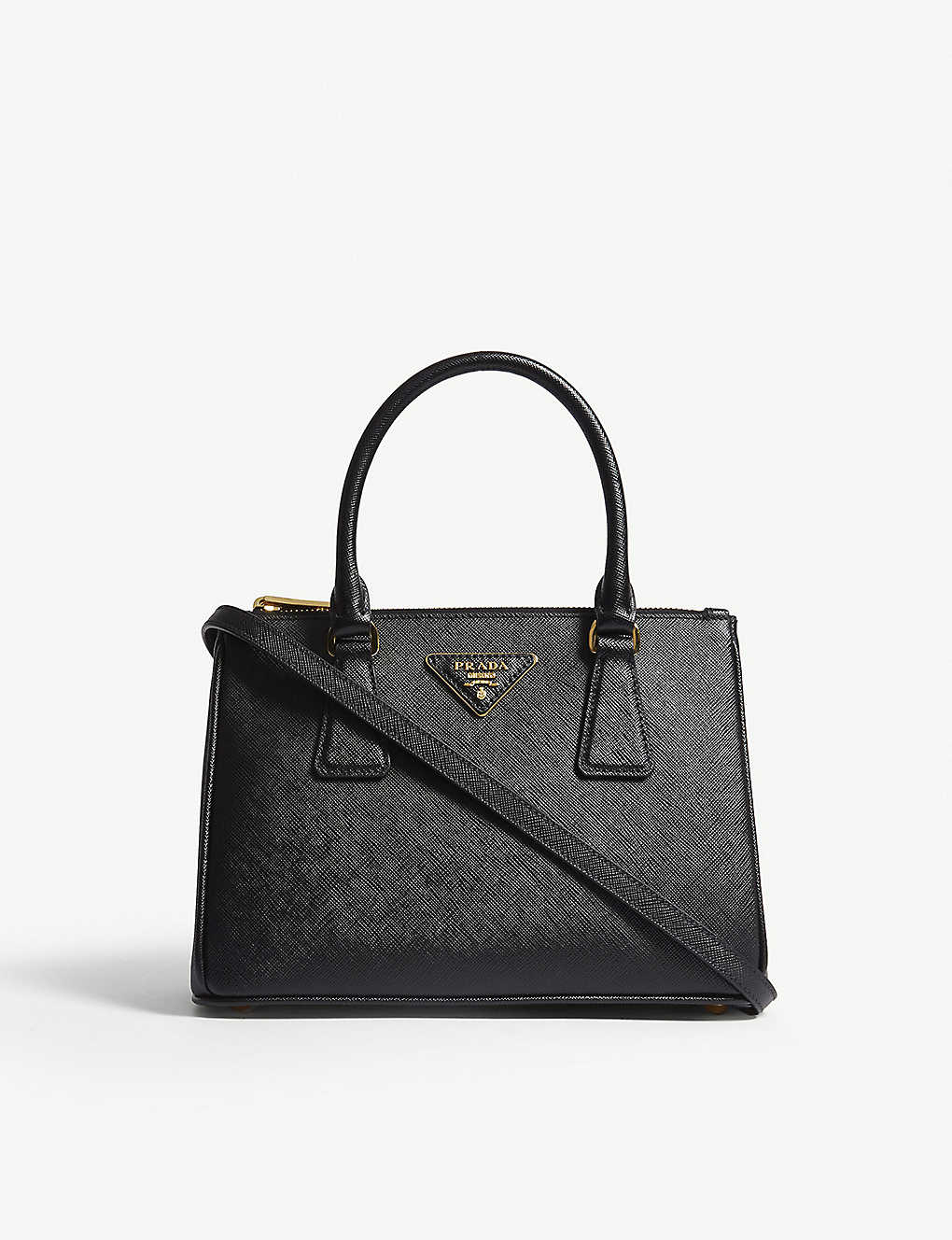 36e5fb37812bb6 PRADA - Galleria leather mini shoulder bag | Selfridges.com