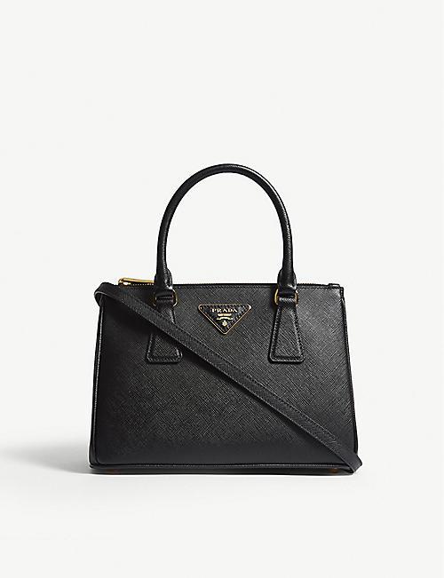 1a57341a8ba4 PRADA - Galleria leather mini shoulder bag | Selfridges.com