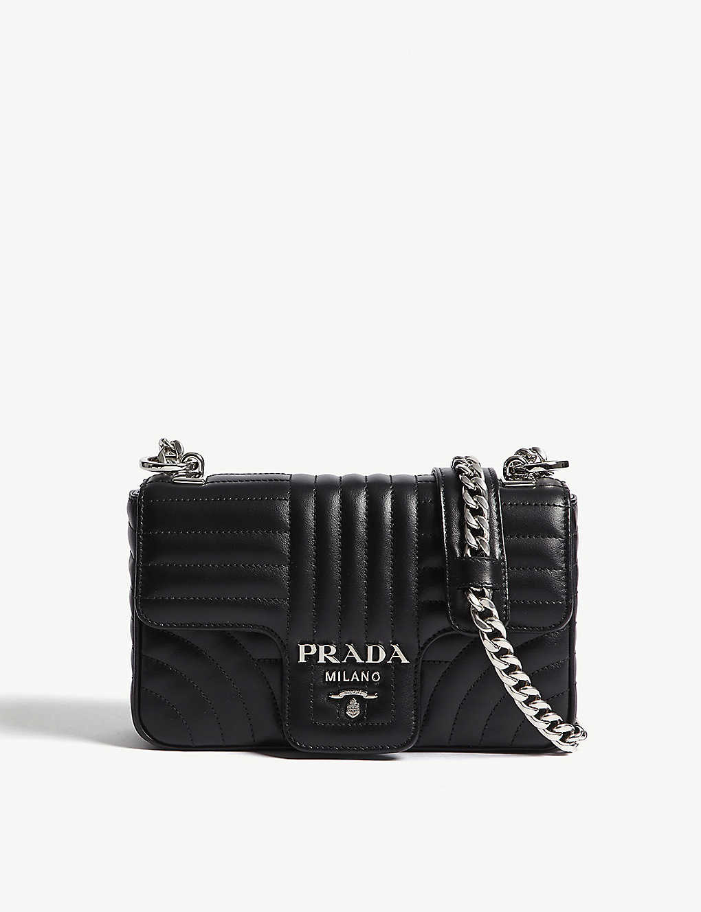 ca65b1842ad4 PRADA - Quilted leather shoulder bag | Selfridges.com