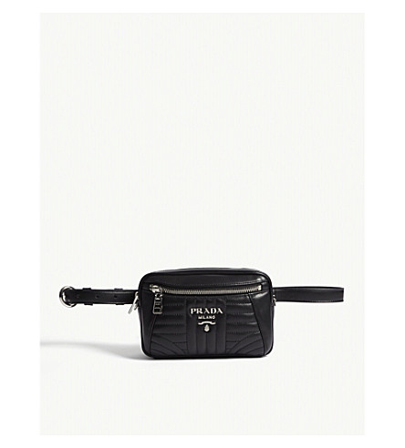 ... PRADA Small quilted leather belt bag (Black. PreviousNext 9dbf35a8b894b