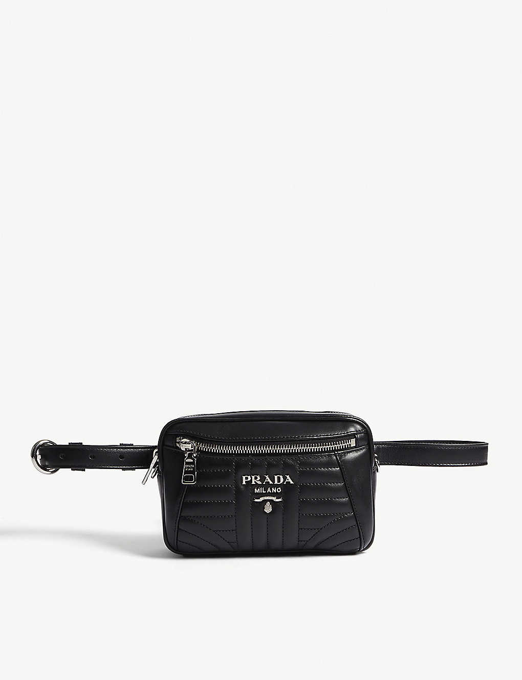 8aa2a8ee2fda PRADA - Small quilted leather belt bag | Selfridges.com